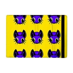 Blue And Yellow Fireflies Ipad Mini 2 Flip Cases by Valentinaart