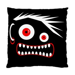 Crazy Monster Standard Cushion Case (one Side) by Valentinaart