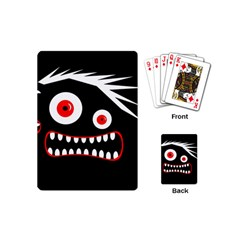 Crazy monster Playing Cards (Mini)