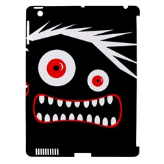Crazy Monster Apple Ipad 3/4 Hardshell Case (compatible With Smart Cover) by Valentinaart