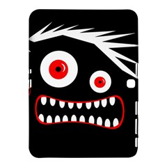 Crazy Monster Samsung Galaxy Tab 4 (10 1 ) Hardshell Case  by Valentinaart
