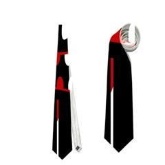 Zombie Face Neckties (one Side)  by Valentinaart