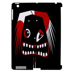 Zombie Face Apple Ipad 3/4 Hardshell Case (compatible With Smart Cover) by Valentinaart