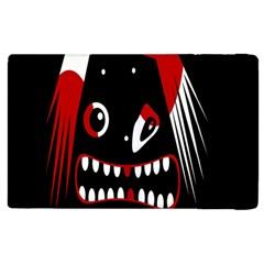 Zombie Face Apple Ipad 2 Flip Case by Valentinaart