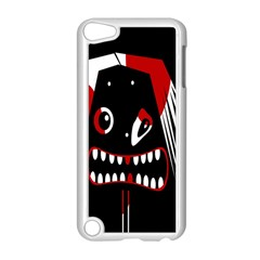 Zombie Face Apple Ipod Touch 5 Case (white) by Valentinaart