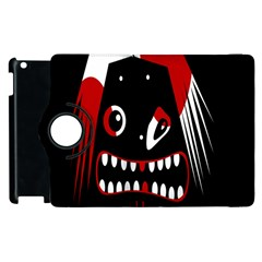 Zombie Face Apple Ipad 3/4 Flip 360 Case by Valentinaart