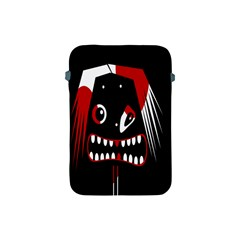 Zombie Face Apple Ipad Mini Protective Soft Cases by Valentinaart