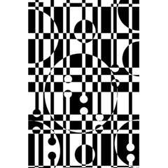 Black And White Pattern 5 5  X 8 5  Notebooks by Valentinaart