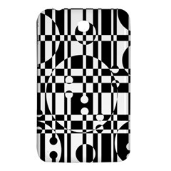 Black And White Pattern Samsung Galaxy Tab 3 (7 ) P3200 Hardshell Case  by Valentinaart
