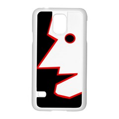 Man Samsung Galaxy S5 Case (white) by Valentinaart