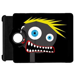 Crazy Man Kindle Fire Hd Flip 360 Case by Valentinaart