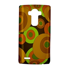 Brown Pattern Lg G4 Hardshell Case by Valentinaart