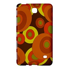 Orange Pattern Samsung Galaxy Tab 4 (7 ) Hardshell Case  by Valentinaart