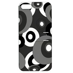 Gray Pattern Apple Iphone 5 Hardshell Case With Stand by Valentinaart