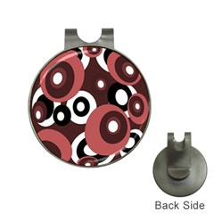 Decorative Pattern Hat Clips With Golf Markers by Valentinaart