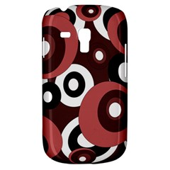 Decorative Pattern Samsung Galaxy S3 Mini I8190 Hardshell Case by Valentinaart