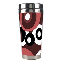 Decorative Pattern Stainless Steel Travel Tumblers by Valentinaart