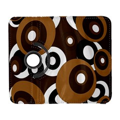Brown Pattern Samsung Galaxy S  Iii Flip 360 Case by Valentinaart