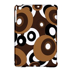 Brown Pattern Apple Ipad Mini Hardshell Case (compatible With Smart Cover) by Valentinaart