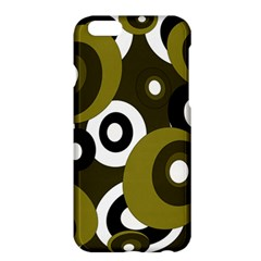 Green Pattern Apple Iphone 6 Plus/6s Plus Hardshell Case by Valentinaart