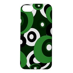 Green Pattern Apple Iphone 5s/ Se Hardshell Case by Valentinaart