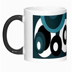 Blue Pattern Morph Mugs