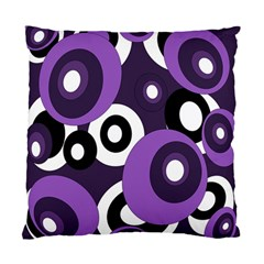 Purple Pattern Standard Cushion Case (one Side) by Valentinaart