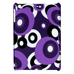 Purple Pattern Apple Ipad Mini Hardshell Case by Valentinaart
