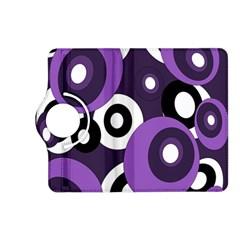 Purple Pattern Kindle Fire Hd (2013) Flip 360 Case by Valentinaart