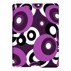 Purple Pattern Samsung Galaxy Tab S (10 5 ) Hardshell Case  by Valentinaart