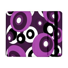 Purple Pattern Samsung Galaxy Tab Pro 8 4  Flip Case by Valentinaart