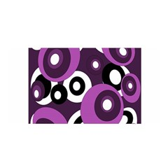 Purple Pattern Satin Wrap by Valentinaart