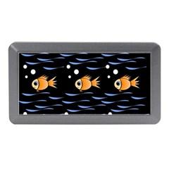 Fish Pattern Memory Card Reader (mini) by Valentinaart