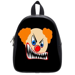 Evil Clown School Bags (small)  by Valentinaart