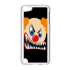 Evil Clown Apple Ipod Touch 5 Case (white) by Valentinaart