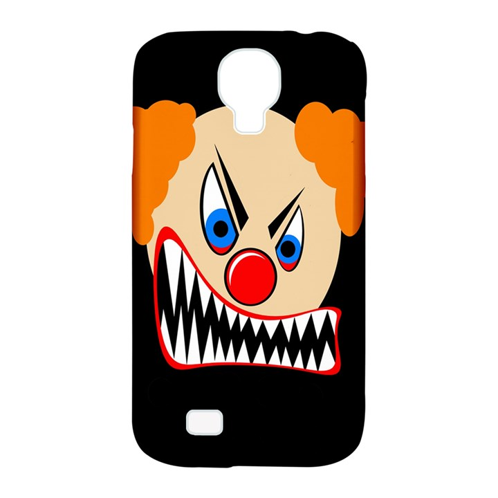 Evil clown Samsung Galaxy S4 Classic Hardshell Case (PC+Silicone)