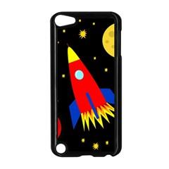 Spaceship Apple Ipod Touch 5 Case (black) by Valentinaart