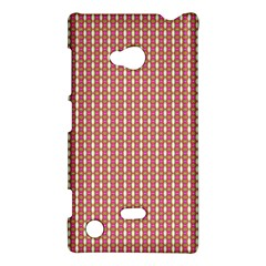 Mod Pink Green Pattern Nokia Lumia 720 by BrightVibesDesign