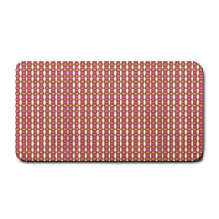 Mod Pink Green Pattern Medium Bar Mats by BrightVibesDesign