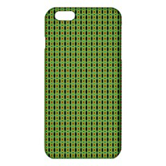 Mod Green Orange Pattern Iphone 6 Plus/6s Plus Tpu Case by BrightVibesDesign