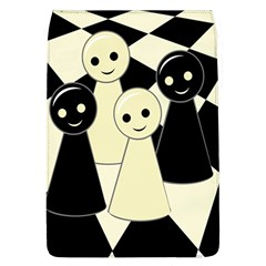 Chess Pieces Flap Covers (l)  by Valentinaart