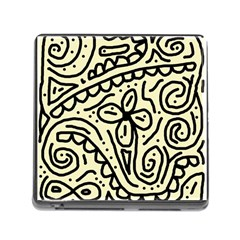 Artistic abstraction Memory Card Reader (Square) by Valentinaart