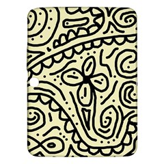 Artistic Abstraction Samsung Galaxy Tab 3 (10 1 ) P5200 Hardshell Case  by Valentinaart