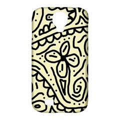 Artistic Abstraction Samsung Galaxy S4 Classic Hardshell Case (pc+silicone) by Valentinaart