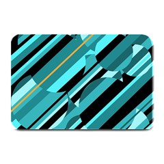 Blue Abstraction Plate Mats by Valentinaart
