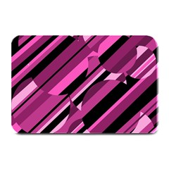 Magenta Pattern Plate Mats by Valentinaart