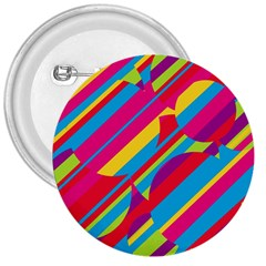 Colorful Summer Pattern 3  Buttons by Valentinaart