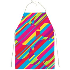 Colorful Summer Pattern Full Print Aprons by Valentinaart
