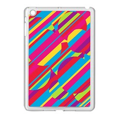 Colorful Summer Pattern Apple Ipad Mini Case (white) by Valentinaart