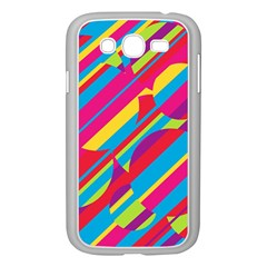 Colorful Summer Pattern Samsung Galaxy Grand Duos I9082 Case (white) by Valentinaart